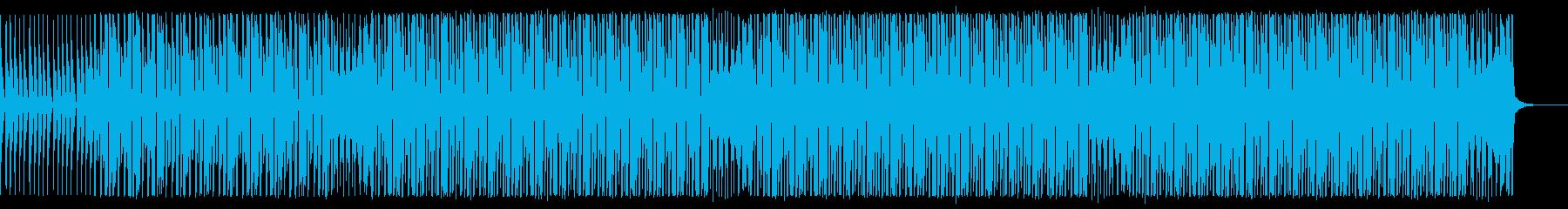 楽器が増えていくリズム重視なダンスPOPの再生済みの波形
