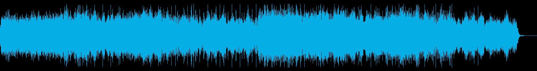 デジタルドリーミーなテクスチャーIDMの再生済みの波形