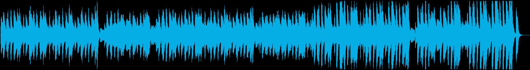 きらきら星 ほのぼのJAZZ調・口笛の再生済みの波形