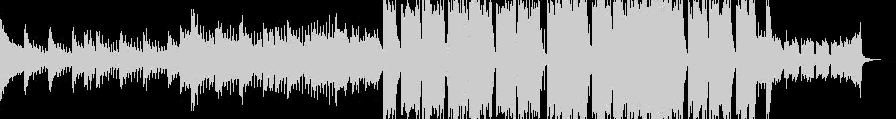 オープニング・EDM・フューチャーベースの未再生の波形
