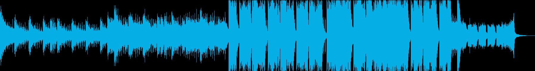 オープニング・EDM・フューチャーベースの再生済みの波形
