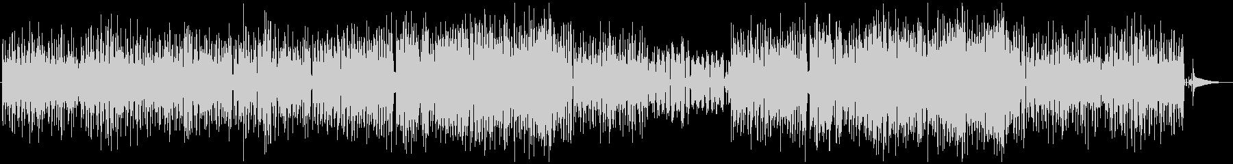 バンドサウンドによる軽快なポップスの未再生の波形