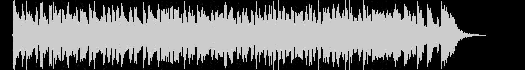 明るくドキドキ感のシンセギターサウンドの未再生の波形
