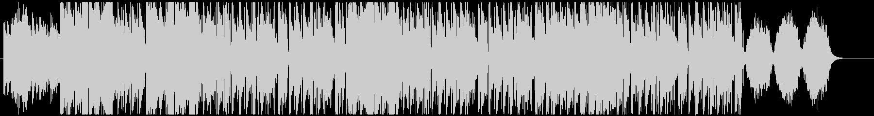 ハロウィンっぽゴシックトリップホップの未再生の波形