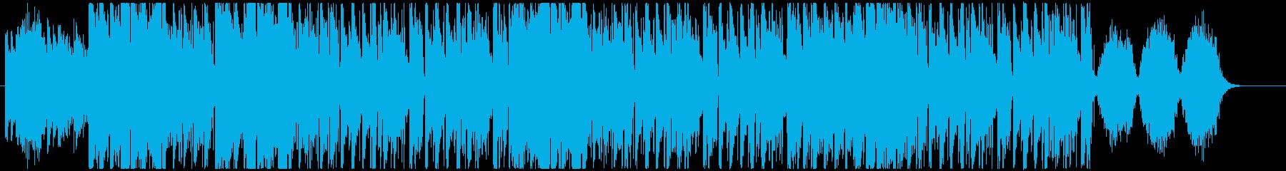ハロウィンっぽゴシックトリップホップの再生済みの波形