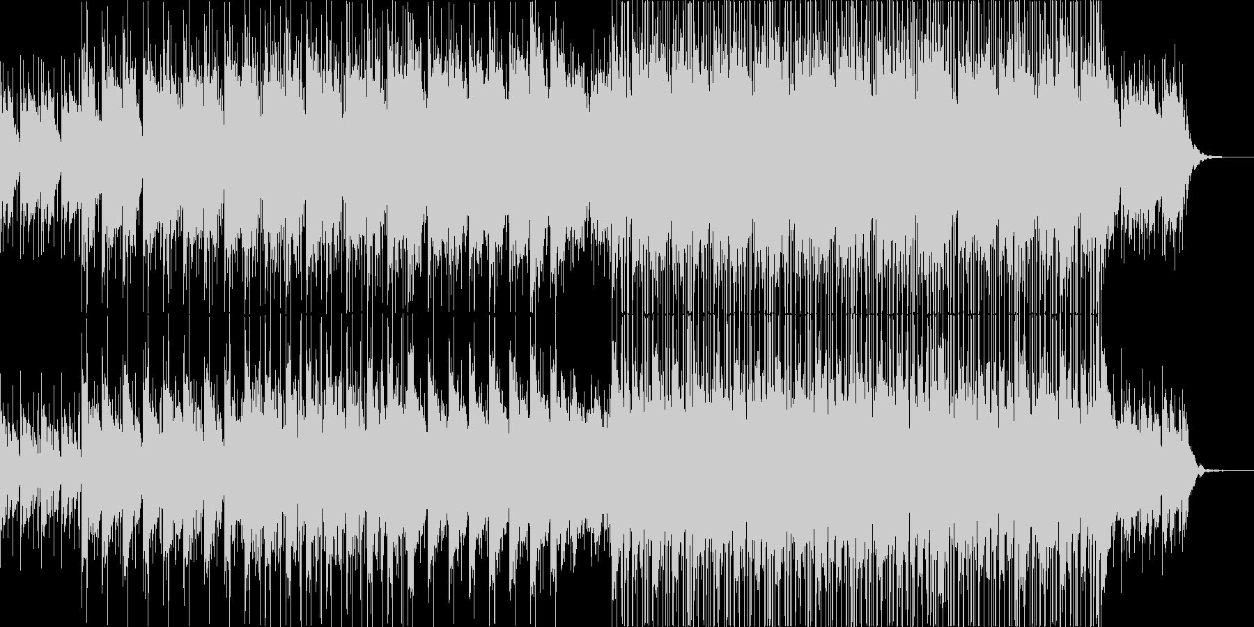 聴衆に高揚感を呼び起こすが、非常に...の未再生の波形