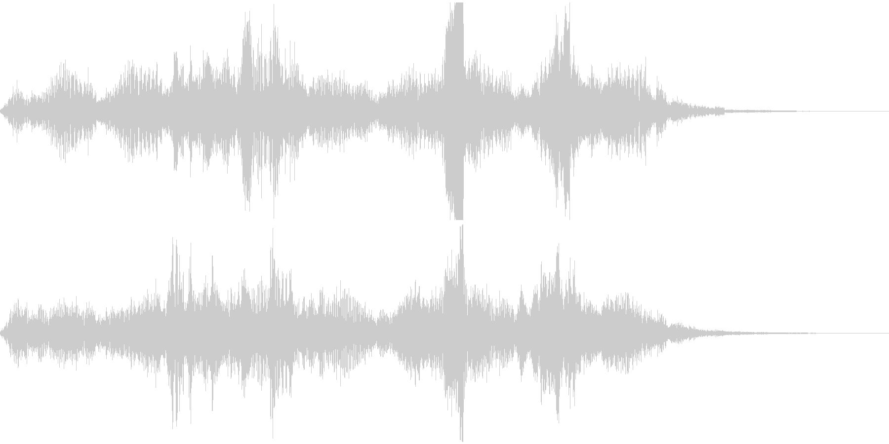 【ゲーム】ダークなフィールド画面に合う音の未再生の波形