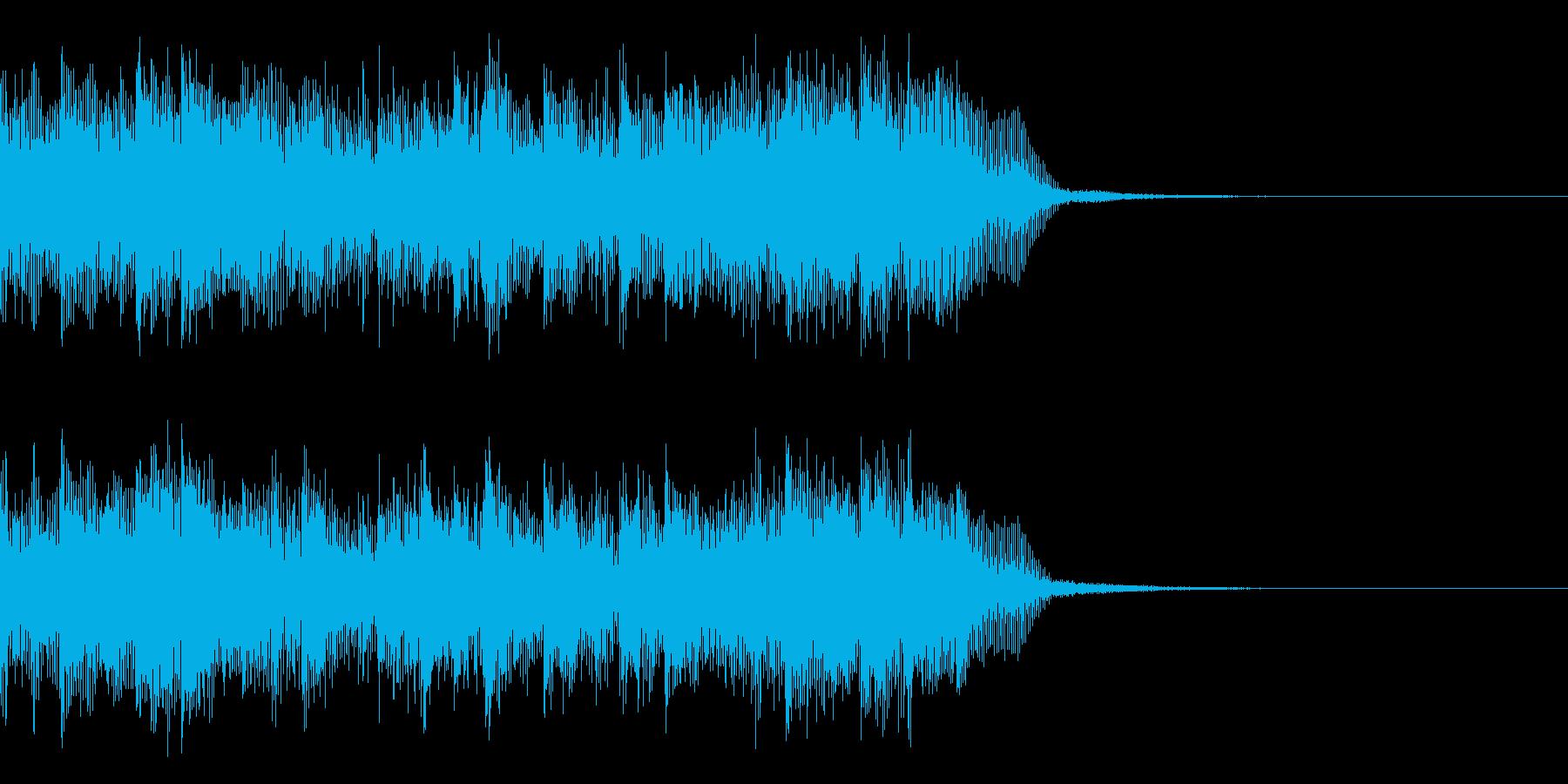 近未来的なシンセリードのEDM の再生済みの波形