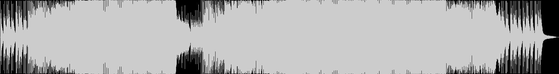幻想的で輝かしいEDMの未再生の波形