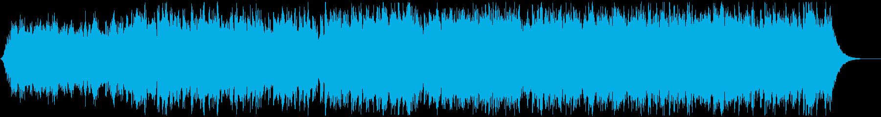 科学・研究所に合いそうなアンビエントの再生済みの波形