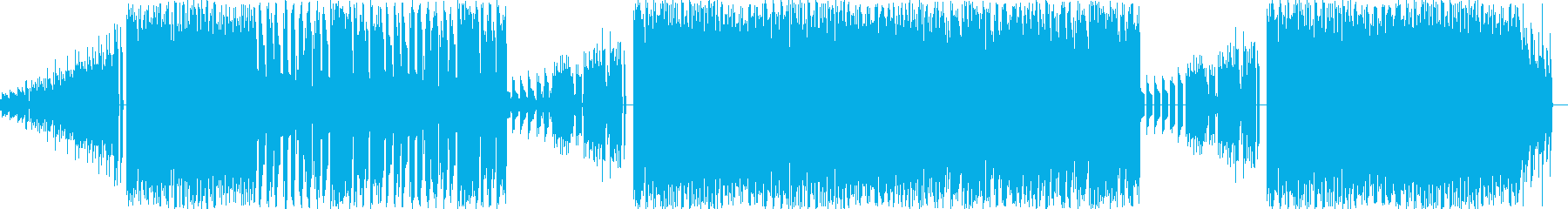 NES ファミコン ゲーム ダンスビートの再生済みの波形