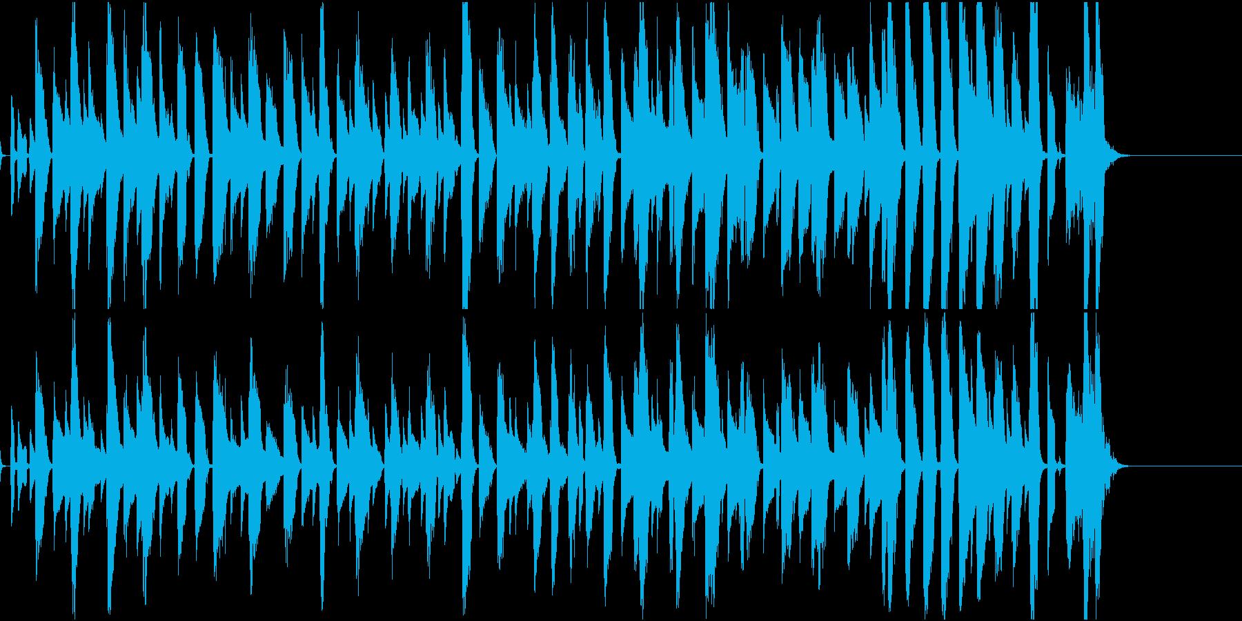 動物系かわいいポップの再生済みの波形