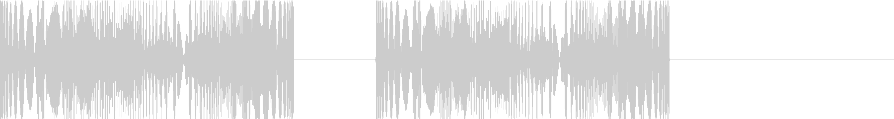 DJプレイ スクラッチ・ノイズ 295の未再生の波形