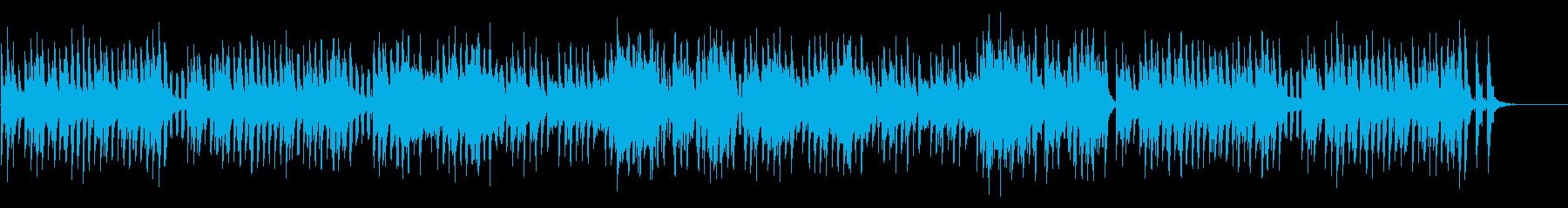陽気なマリンバのお散歩ポップスの再生済みの波形