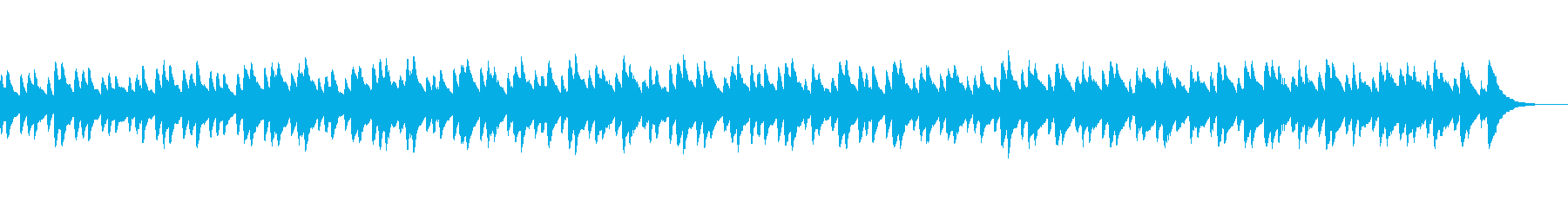 ファンタジー系にあいそうな曲の再生済みの波形