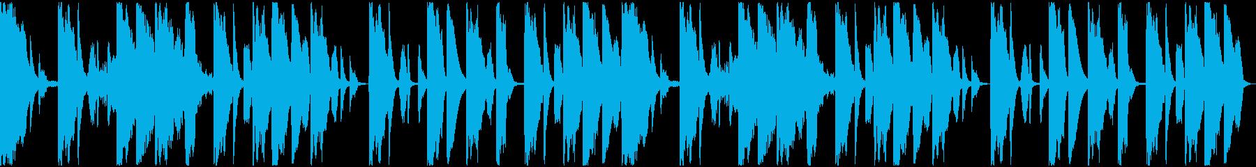 【ミステリアス】ロング1、ジングル1の再生済みの波形
