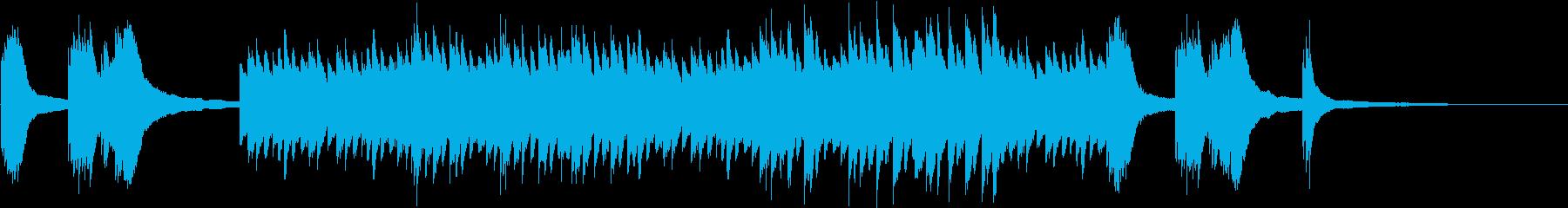 切ないゲームなどに合いそうなピアノ曲5の再生済みの波形