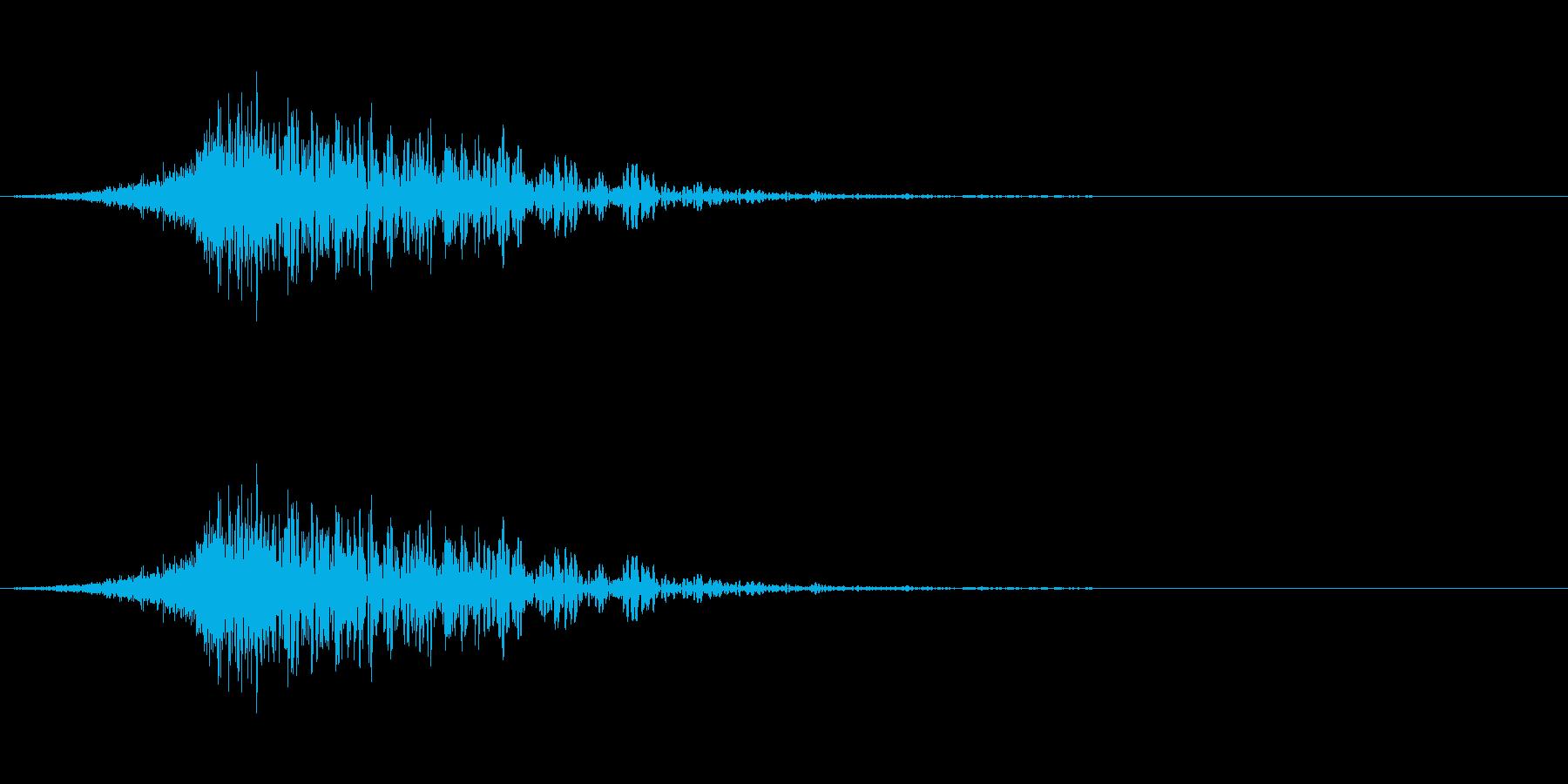 latigo 5をシューッという音の再生済みの波形