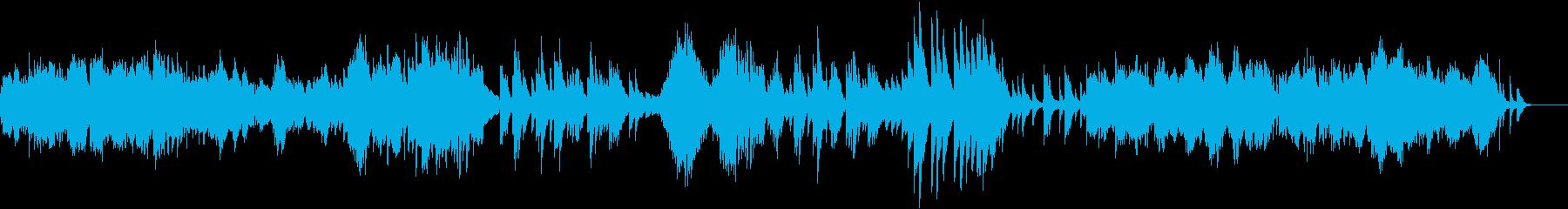 2つのアラベスクから第一番ピアノソロの再生済みの波形
