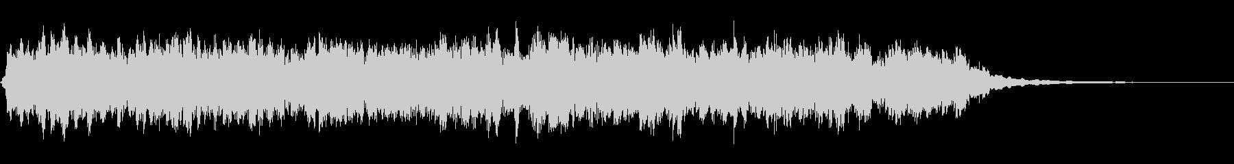 アラームクロックベル:呼び出し音、ベルの未再生の波形