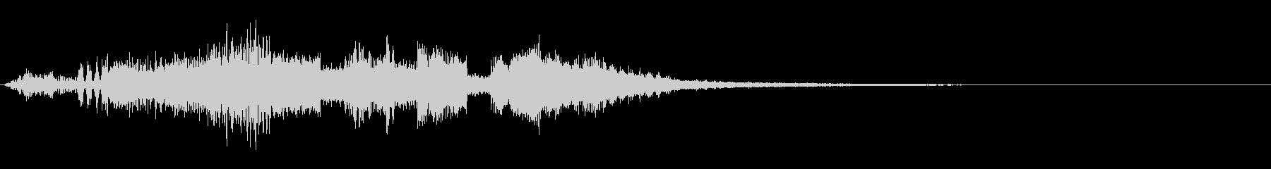 KANT近未来ロボット言語効果音5の未再生の波形