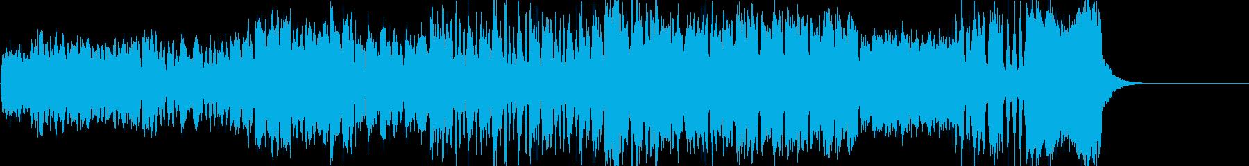 オーケストラを使ったBGMで、ヨーロッ…の再生済みの波形