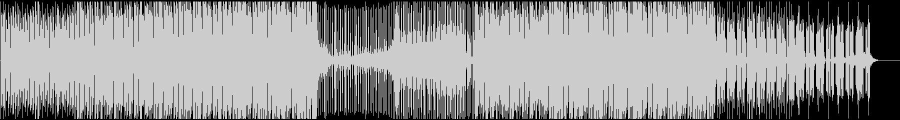 戦闘向けエレクトロ、デジタルロックの未再生の波形