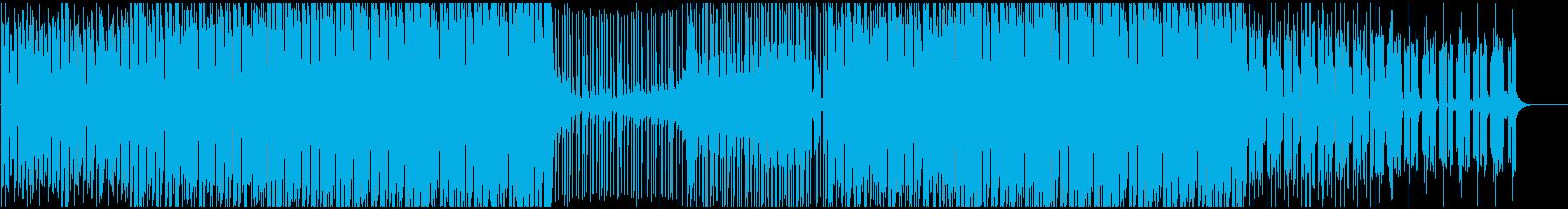 戦闘向けエレクトロ、デジタルロックの再生済みの波形