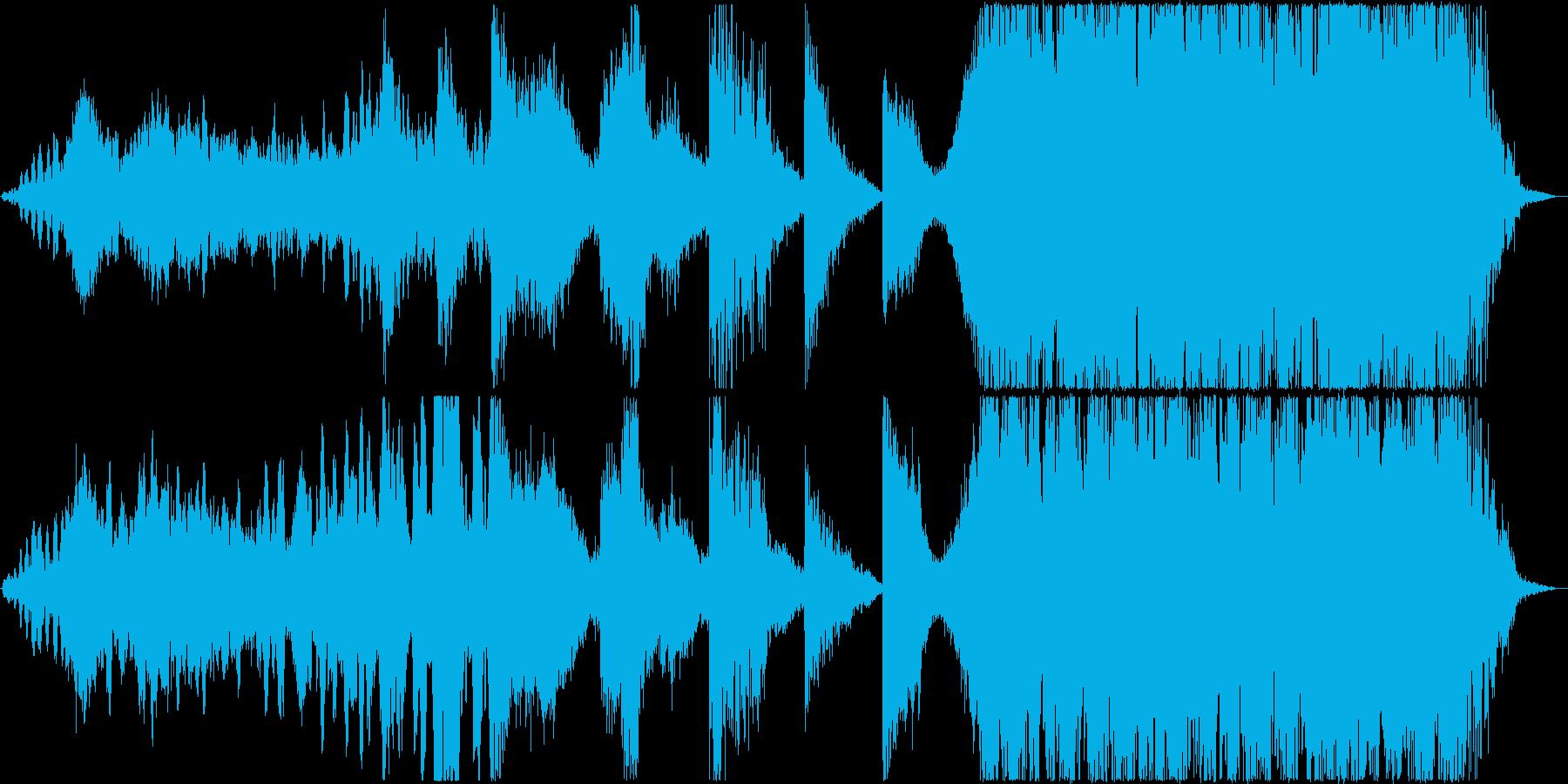 映画等,トレーラー/打楽器主体の再生済みの波形