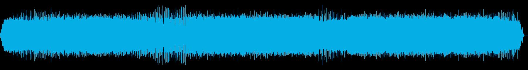 哀愁感のあるドラムンベースの再生済みの波形
