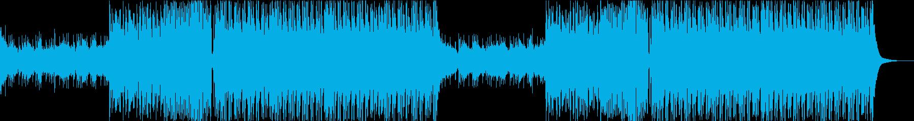 感動的・明るいFuture Bass aの再生済みの波形