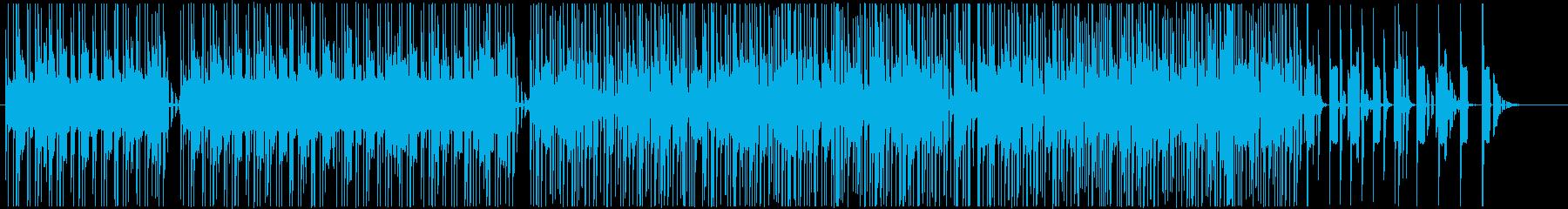 寂しげなシンセメロディーが印象的なビートの再生済みの波形