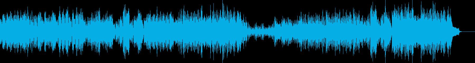 かわいい童話テイストのワルツ Bの再生済みの波形