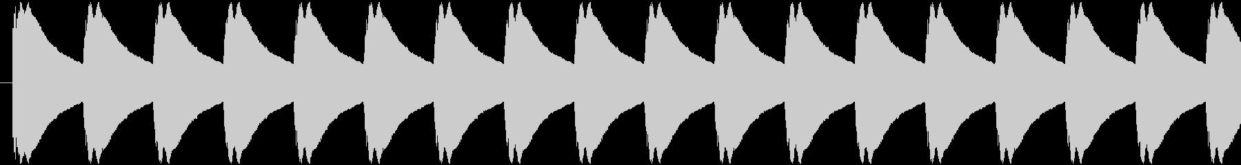 ゲージ増減 得点などの集計 ティリリリ…の未再生の波形