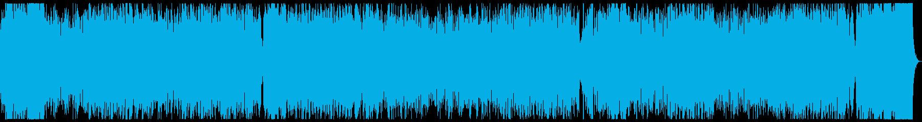ブレイブハート ドライ版 勇壮な戦闘曲の再生済みの波形