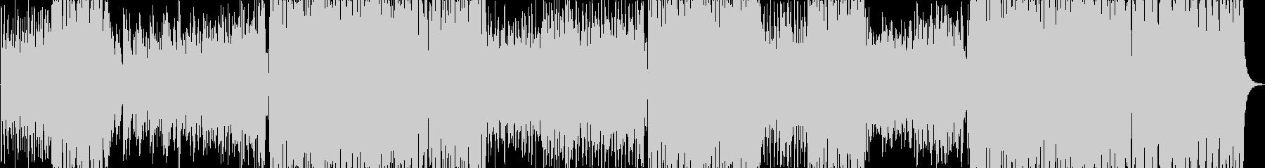 春満載♫西野カナ風華やかなバンドPopsの未再生の波形