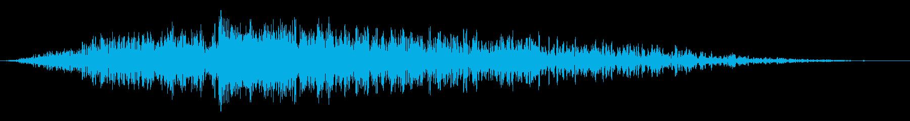ビッグフェーズドインパクトスイープ...の再生済みの波形