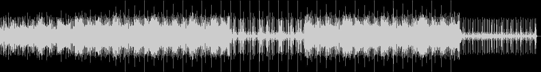 ビート感ありローファイヒップホップBGMの未再生の波形