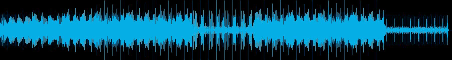 ビート感ありローファイヒップホップBGMの再生済みの波形