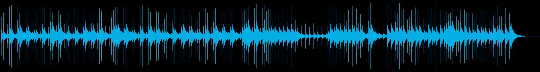 可愛くて癒される優しいオルゴールBGMの再生済みの波形