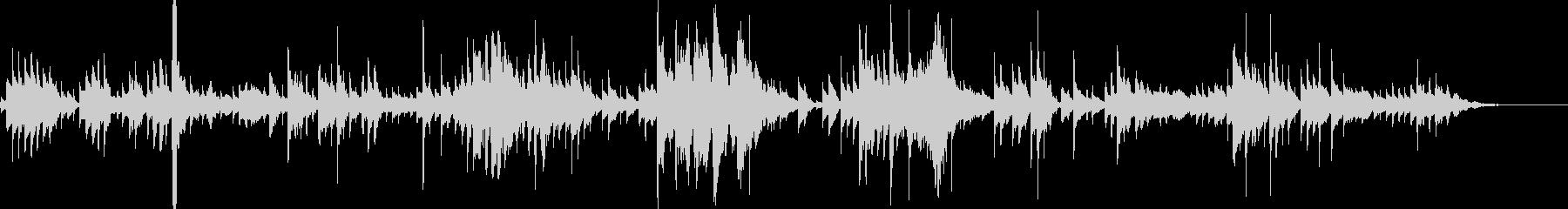 シンセビブラフォンアルペジオの未再生の波形