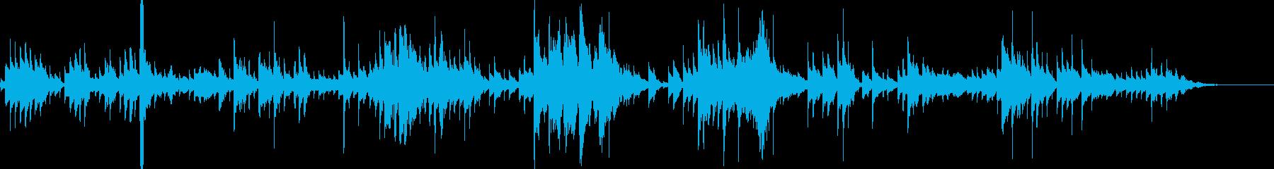 シンセビブラフォンアルペジオの再生済みの波形