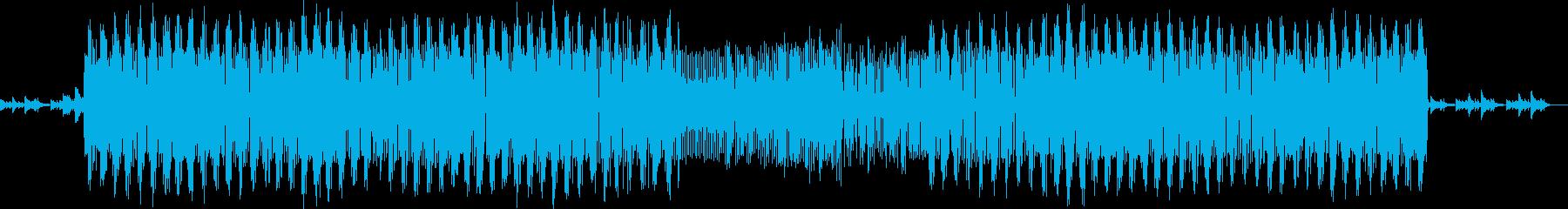 少しアンバランスなテクノ風カリンバの再生済みの波形