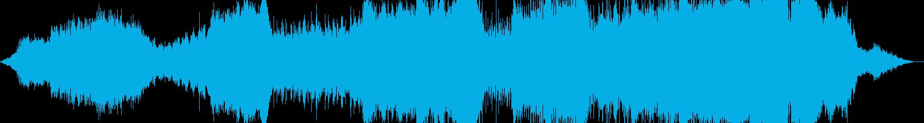 スケールが大きくて破壊力あるメロディーの再生済みの波形