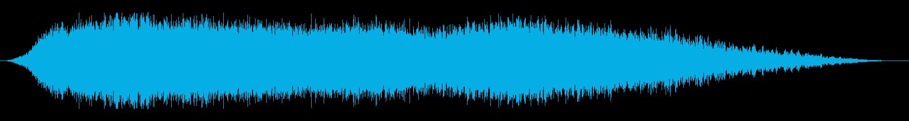 ロングセラーのアンビエント274の再生済みの波形