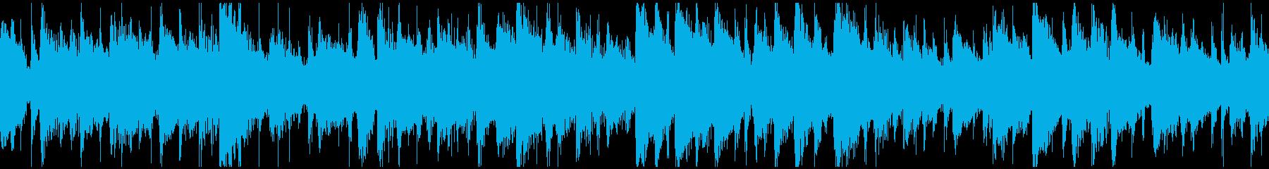 生演奏お正月「一月一日」ボサノバ ループの再生済みの波形
