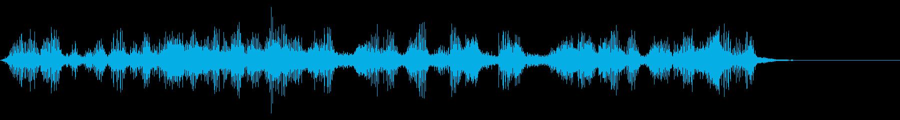 【生録音】フラミンゴの鳴き声 36の再生済みの波形