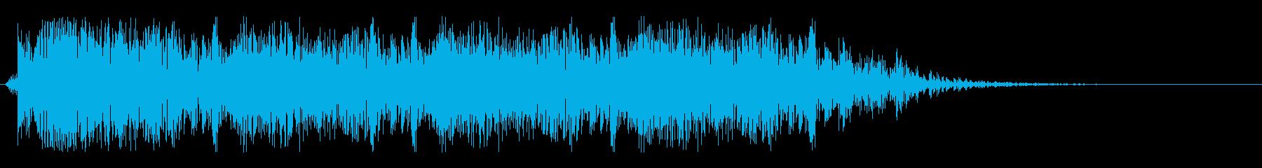 レーザーガン:ショートバースト、武...の再生済みの波形