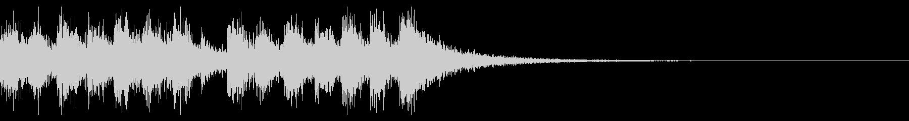 決戦のファンファーレ_定番07の未再生の波形