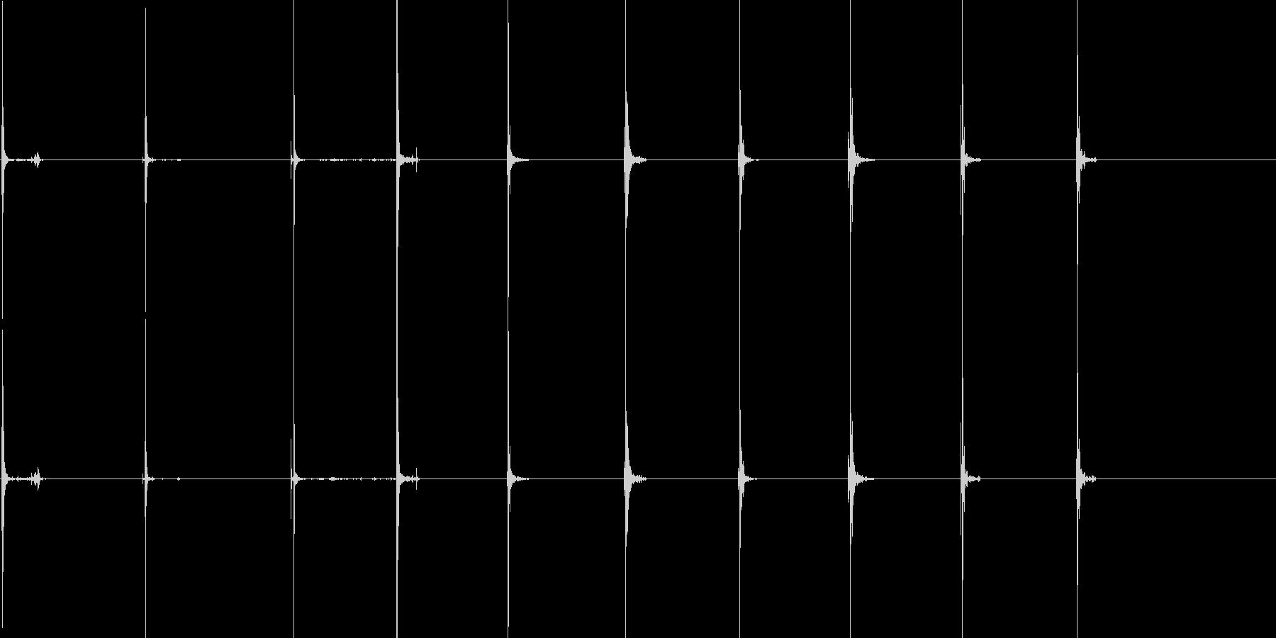 ヘビースタブ1-10の未再生の波形